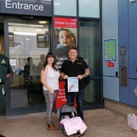 Family reunited with paramedics who saved their baby after roadside birth