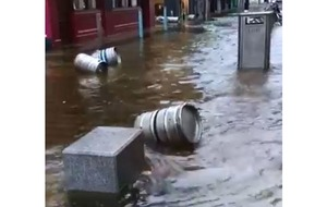 Cork businesses and properties damaged by flood water