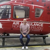 Co Tyrone man injured in motorbike crash is fundraising for Air Ambulance 'to do something to give back for all their help'