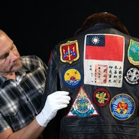 Pretty Woman boots and Top Gun bomber jacket up for auction