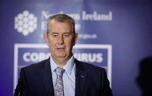 Edwin Poots refuses to apologise for Catholic coronavirus comments, saying 'bad behaviour' spreads the virus