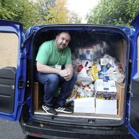 Belfast food bank inundated with pleas for help boosted by £10,000 donation