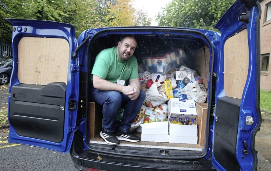 Christmas Meal Belfast Foodbank 2020 Belfast food bank inundated with pleas for help boosted by £10,000