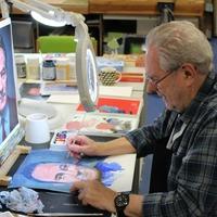 Art by blind veterans to go under the e-hammer