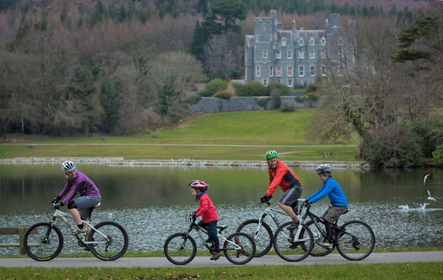 Discover Northern Ireland tells people to get on their bikes
