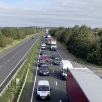 Huge tailbacks at border as Republic moves to Level 5
