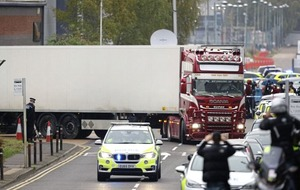 Lone man seen 'looking for his friends' after lorry left en route to Essex, jury told