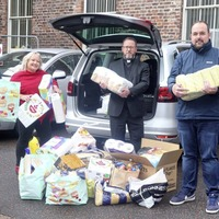 Hydebank inmates busy as Santa's elves making Christmas boxes for the needy