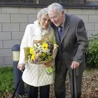 Covid-19 restrictions can't stop couple marrying 40 years after first meeting