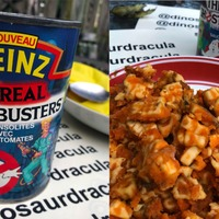 Man opens 28-year-old Ghostbusters-themed pasta can in Halloween experiment