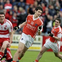 Past football battles between Derry and Armagh