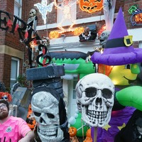 In Pictures: Halloween houses put the fun back into fear after year of turmoil