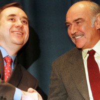 Salmond hails Connery's 'unshakable' support for Scottish independence