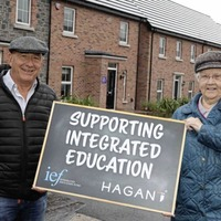 Co Antrim homebuilder donates £100,000 to support integrated education in NI