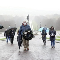 Silent Walk in memory of the Disappeared is socially distant this year due to Covid restrictions