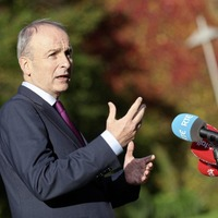 Micheál Martin describes Leo Varadkar as taoiseach twice