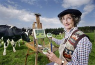 Lindy Guinness: 'Artist, conservationist and cow connoisseur'