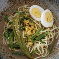 James St Cookery School: Thai chicken noodle soup and peanut butter cookies