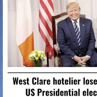 A bad night at the US presidential election polls for 'West Clare Hotelier' and 'South Ayrshire Golf Club Owner'