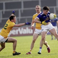 I would consider staying on with Antrim: veteran midfielder Michael McCann