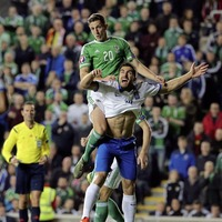 Northern Ireland's Cathcart determined to reach Euros for injured Corry Evans