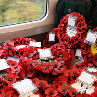Poppies to Paddington operation carries more than 100 wreaths to the capital