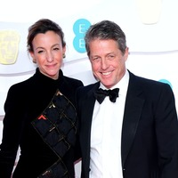 Hugh Grant reveals he and wife Anna Eberstein had Covid-19 in February