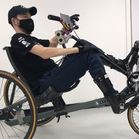 Paralysed cyclist hoping to win gold to promote life-changing technology