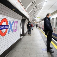 Oxford Circus Underground station gets a makeover for PlayStation 5 UK launch