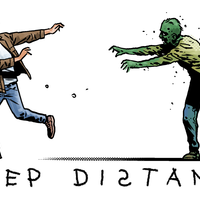 Walking Dead comic artist enlists zombies to reinforce Covid-19 safety message
