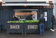 Eating Out: Going through Baker Street's fab food truck menu in short order