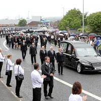 Sinn Féin figures to learn prosecution decision over Bobby Storey funeral scenes