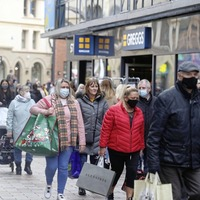 High streets experience 'storm before the calm' of Covid lockdown