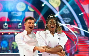 Aljaz Skorjanec defends Strictly partner Clara Amfo after samba flop