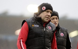 Tyrone will set the bar high for players says new joint-manager Feargal Logan