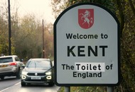 'Welcome to Kent The Toilet of England' – Brexit protesters target road signs