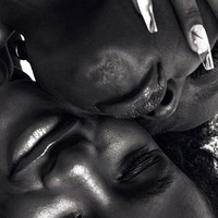 Fashion model Aweng Ade-Chuol kisses wife on cover of Elle UK