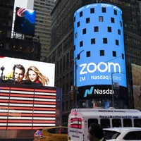 Shares in Zoom fall as growth appears to be tapering off