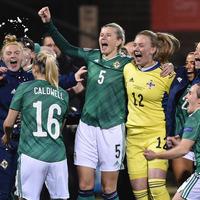 Northern Ireland women hit high five to reach Euro play-offs