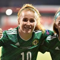 Northern Ireland women setting sights on Euro 2022 in England