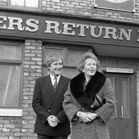 Margaret Thatcher briefed on Corrie characters ahead of Rovers Return visit