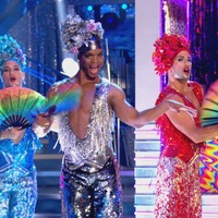 Johannes Radebe leads Strictly drag tribute to Priscilla, Queen Of The Desert