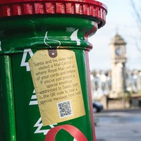 Postboxes bring festive cheer – and a message from Father Christmas