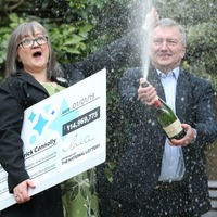 £115m EuroMillions winners reveal joy over giving half their fortune away