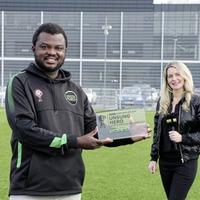 EMSONI founder Adekanmi wins BBC NI Unsung Hero award