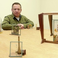 Art exhibition inspired by charity shop find opens in Belfast