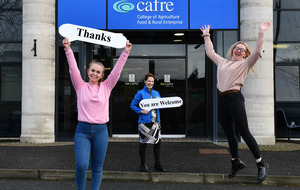 'Learning by doing' - did you know that 92 per cent of students at CAFRE are either employed or engaged in further study within six months of graduating?