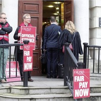 Civil service pay packets rise by almost six per cent