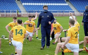 Darren Gleeson backs Antrim players to block out All-Ireland 'occasion'