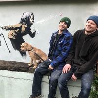 Banksy confirms mural of sneezing pensioner is his work